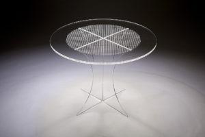 Tavolo di Design in Plexiglass