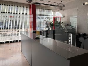 Parafiato e Parasputi in plexiglass