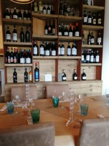 ristorante separatore clienti