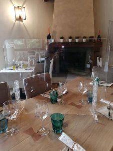 Pannello in Plexiglass Divisorio ristorante