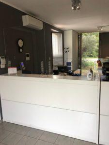 ufficio barriera protettiva da banco